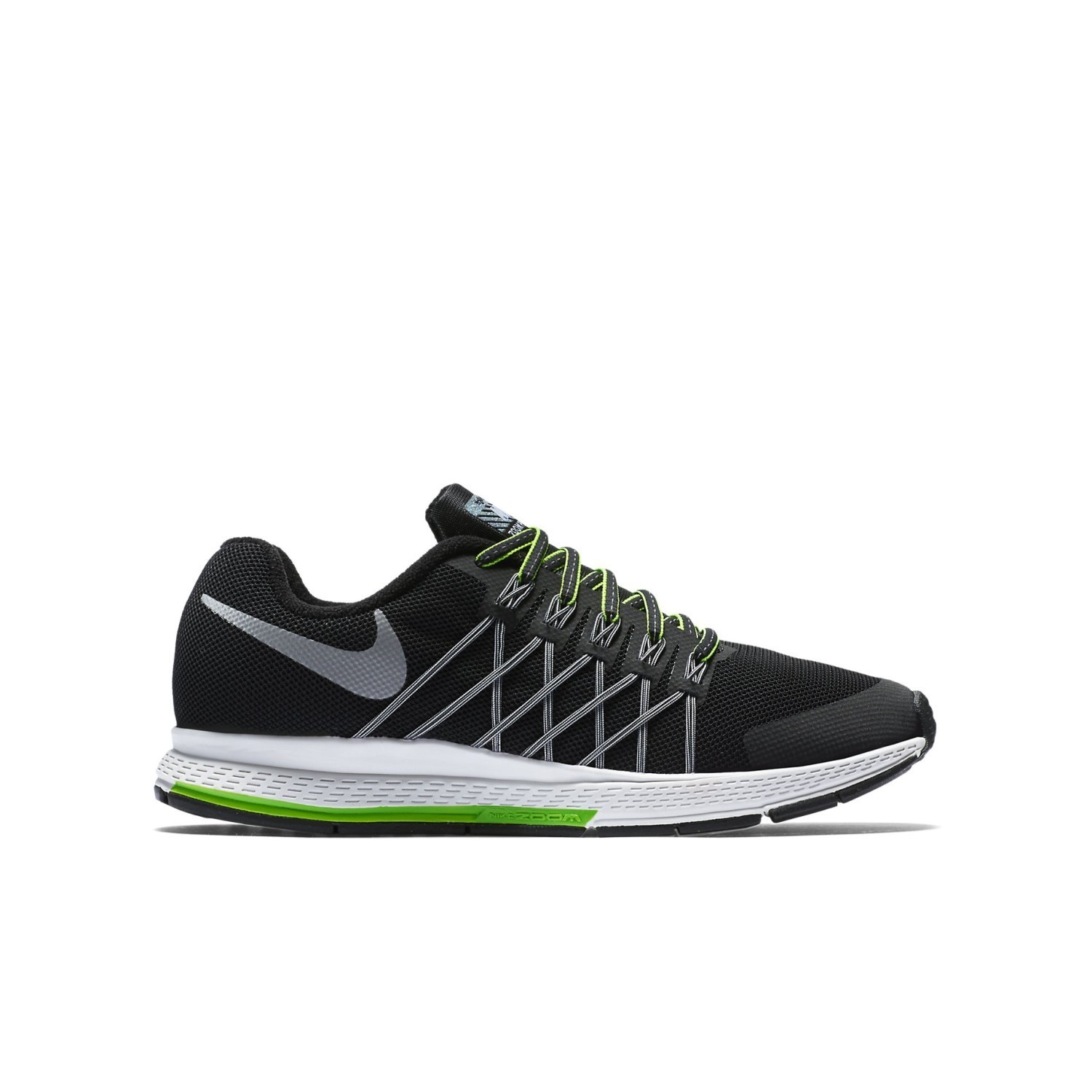 huge selection of 9d2d8 d42c9 Nike Zoom Pegasus 32 Flash (GS) - Kids Boys Running Shoes - Black