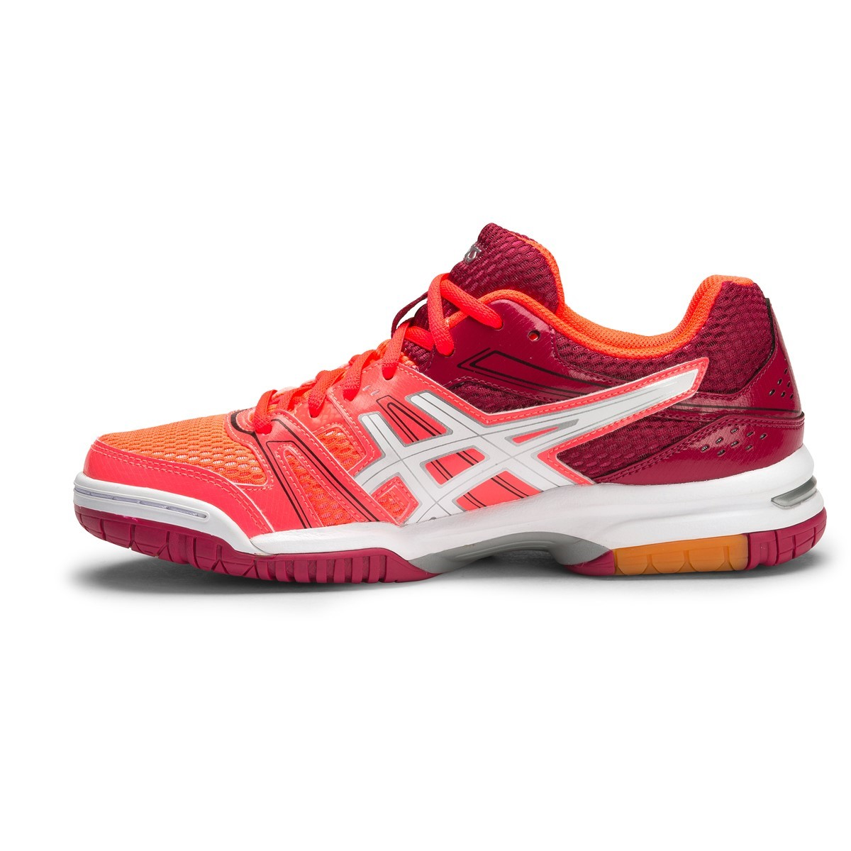 1bd2a13901a7 Asics Gel Rocket 7 - Womens Indoor Court Shoes - Flash Coral White Cerise