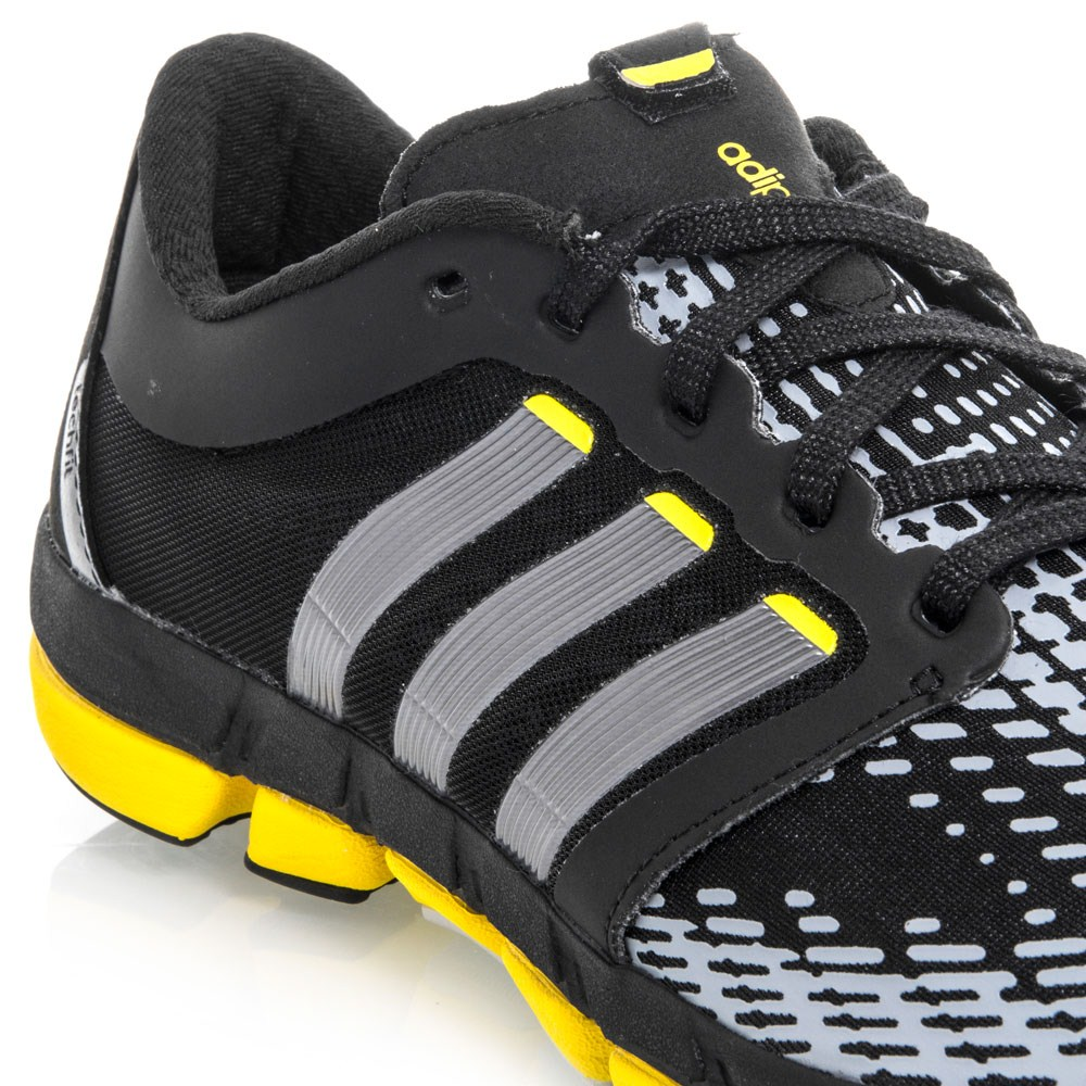 Adidas Adipure Motion - Mens Running Shoes - Black/Silver