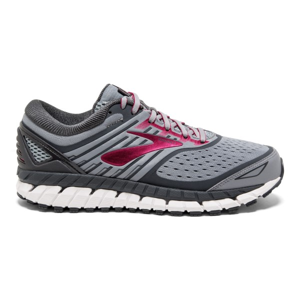 Brooks Ariel 18 - Womens Running Shoes - Grey/Pink