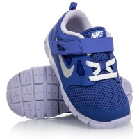 Nike Free 5.0 TDV - Toddler Girls Running Shoes - Blue Yellow White ... 519560bbc