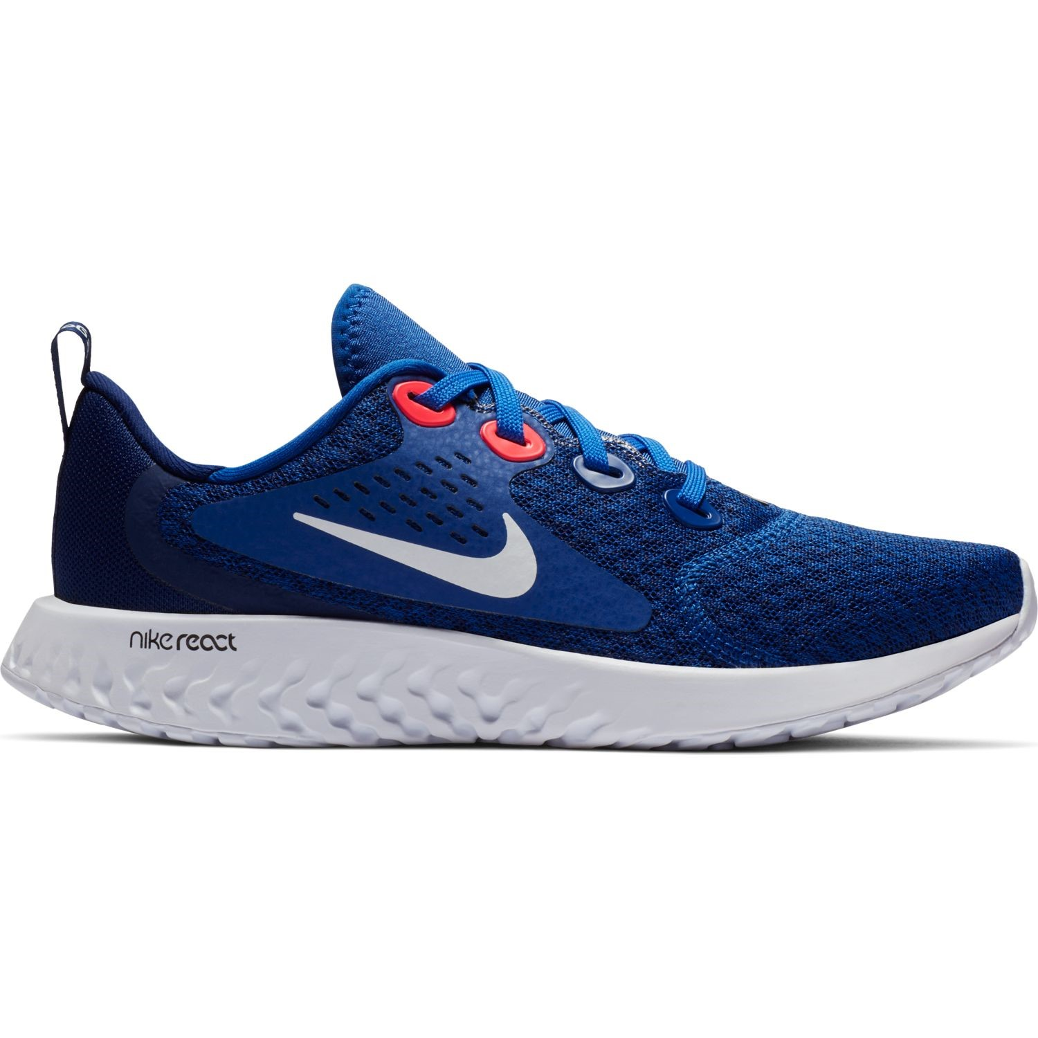 29535c9f9f7 Nike Legend React GS - Kids Boys Running Shoes - Indigo Force White Blue