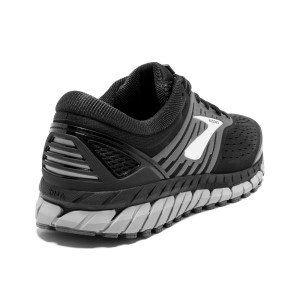 118e7683dd926 ... Brooks Beast 18 - Mens Running Shoes - Black Grey Silver ...