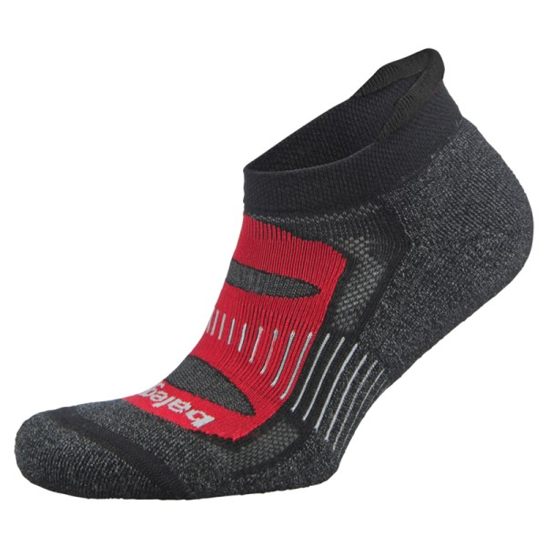 Balega Blister Resist No Show Running Socks - Black/Red