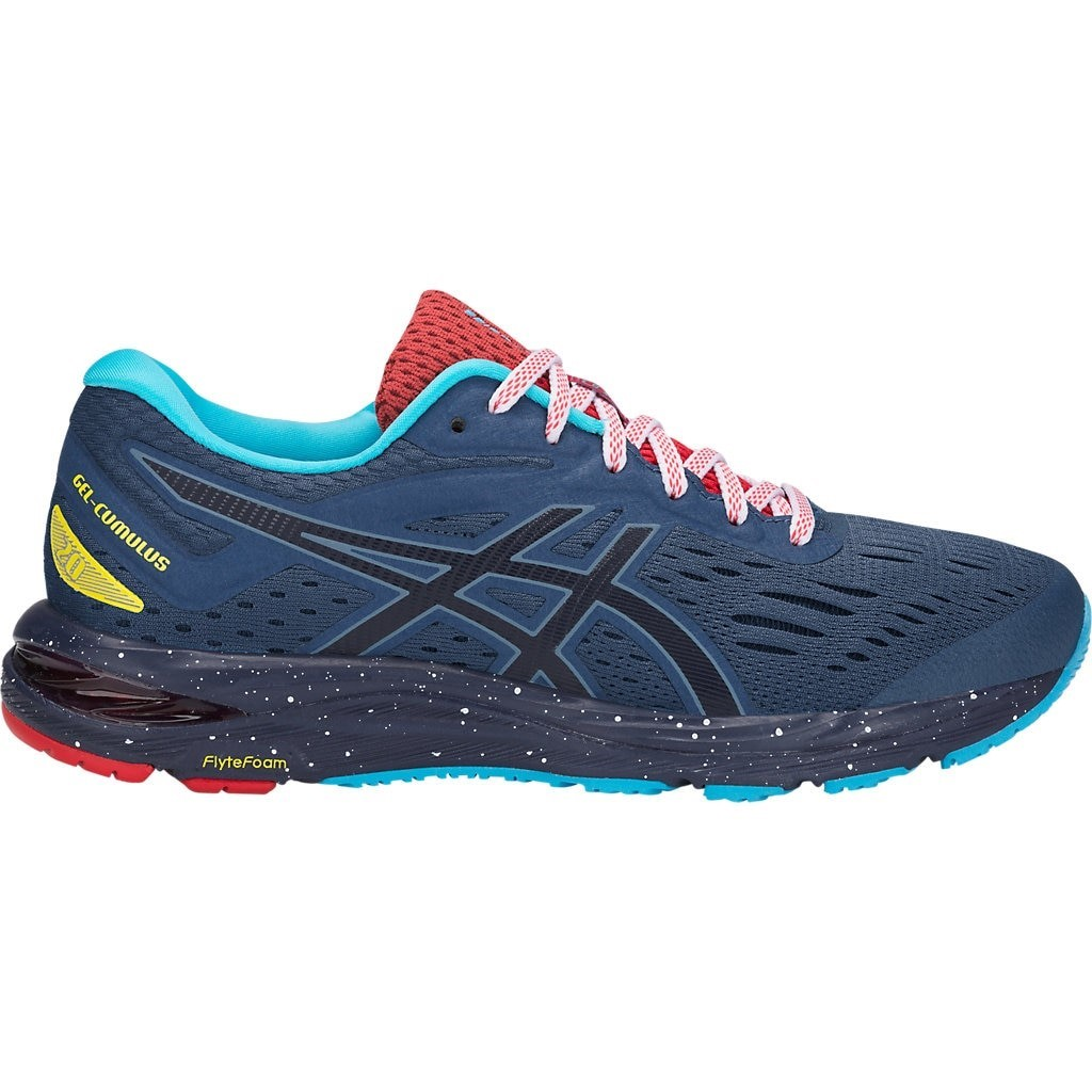 Asics Gel Cumulus 20 Limited Edition - Womens Running Shoes - Grand  Shark Peacoat 8c38af997