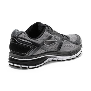 452f491f5bc ... Brooks Ghost 8 - Mens Running Shoes - Silver Black White