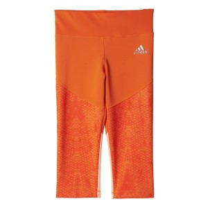 Adidas TechFit Kids Girls 3/4 Training Tights