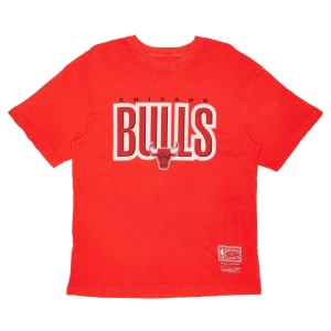 Mitchell & Ness Chicago Bulls Retro Blur NBA Mens Basketball T-Shirt
