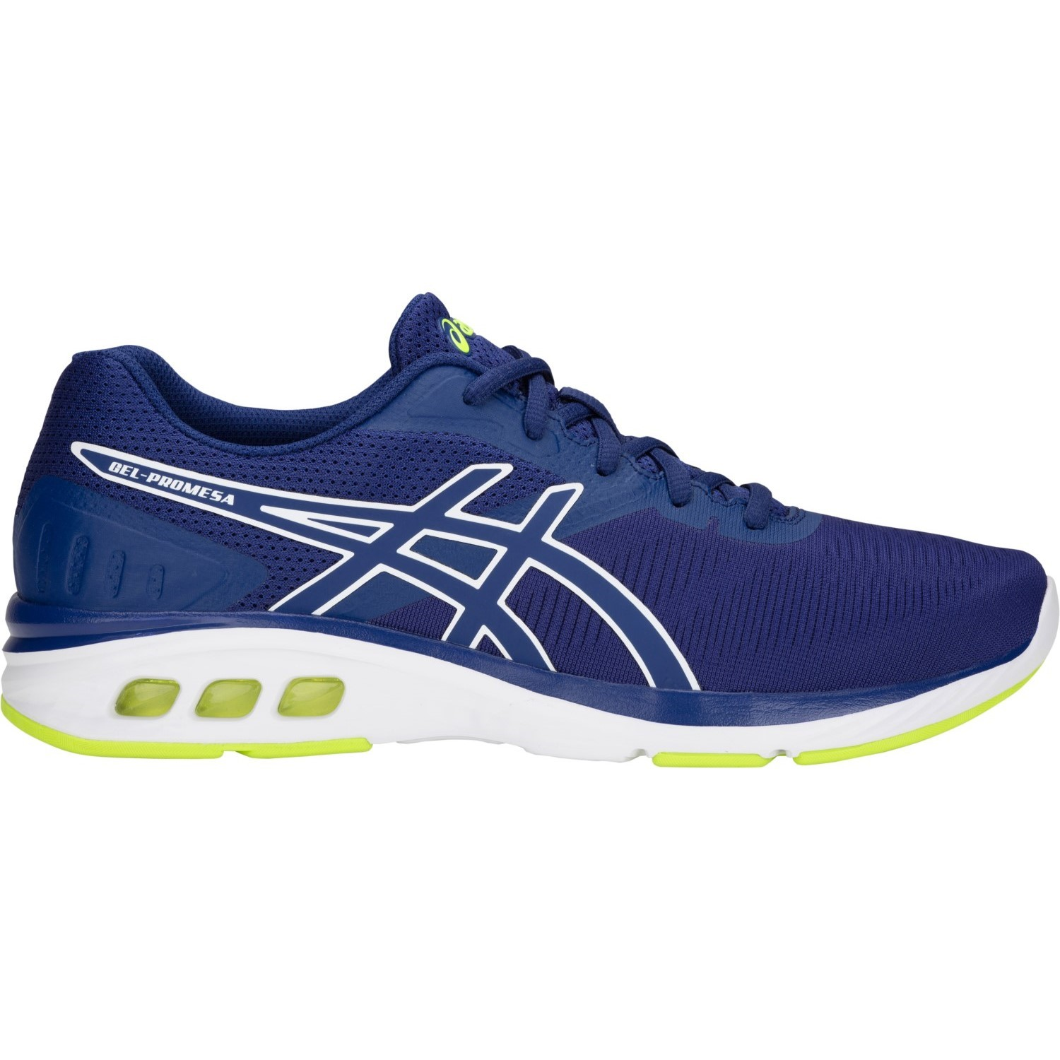 tsunami con las manos en la masa Destino  Asics Gel Promesa - Mens Running Shoes - Blue Print/White | Sportitude