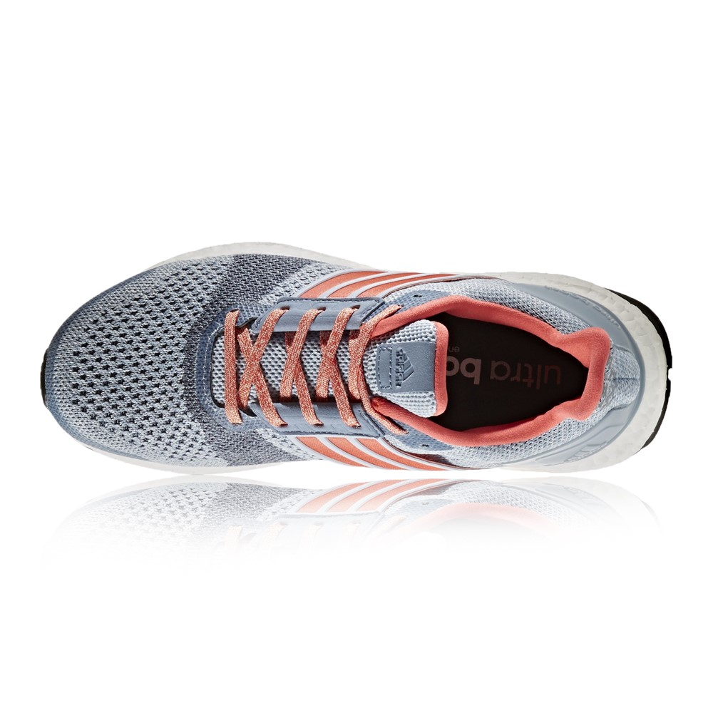 440752420e0e7 Adidas Ultra Boost ST - Womens Running Shoes - Easy Blue Coral Grey ...