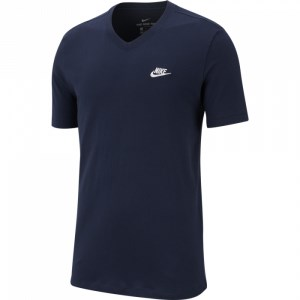 Nike Sportswear Club V-Neck Mens T-Shirt