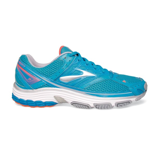 Brooks Liberty 9 Mesh - Womens Cross Training Shoes - Hawaiian Ocean/Blue/Coral