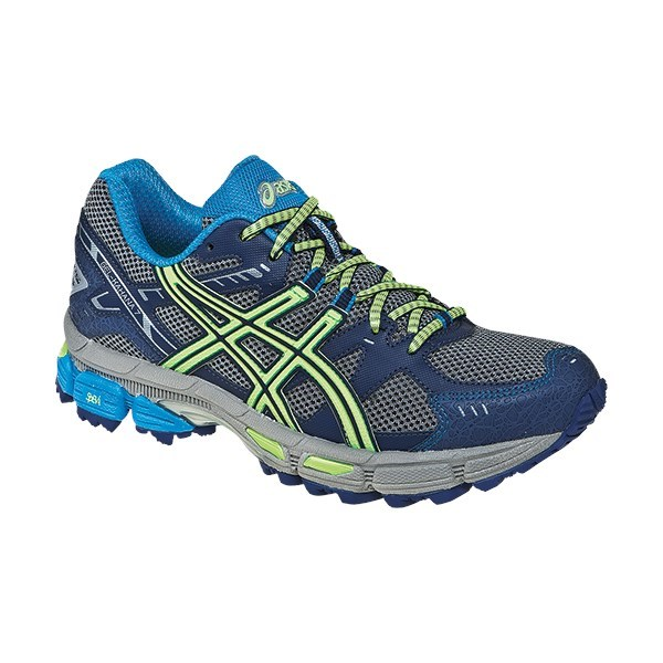 9a8c491adf97 Asics Gel Kahana 7 - Womens Trail Running Shoes - Grey Mint Blue Blue