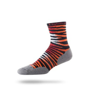 Lightfeet Predator Half Crew - Unisex Running Socks