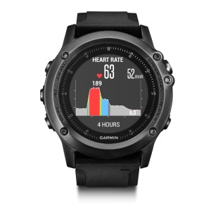 Garmin Fenix 3 HR Sapphire Multisport GPS Performance Watch Bundle
