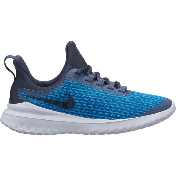 Nike Renew Rival GS - Kids Boys Running Shoes - Diffused Blue/Thunder Blue