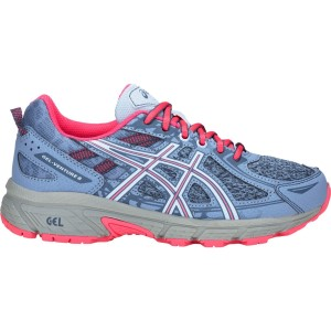 Asics Gel Venture 6 GS - Kids Girls Trail Running Shoes
