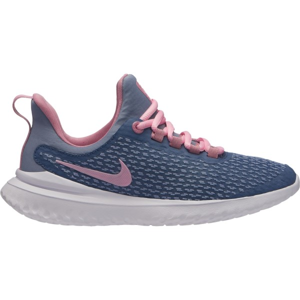 Nike Renew Rival GS - Kids Girls Running Shoes - Diffused Blue/Pink/Ashen Slate