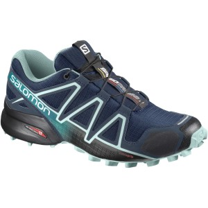 Salomon Speedcross 4 Wide - Womens Trail Running Shoes