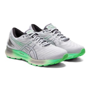 Asics Gel Nimbus 22 Lite - Mens Running Shoes - White/Piedmont Grey