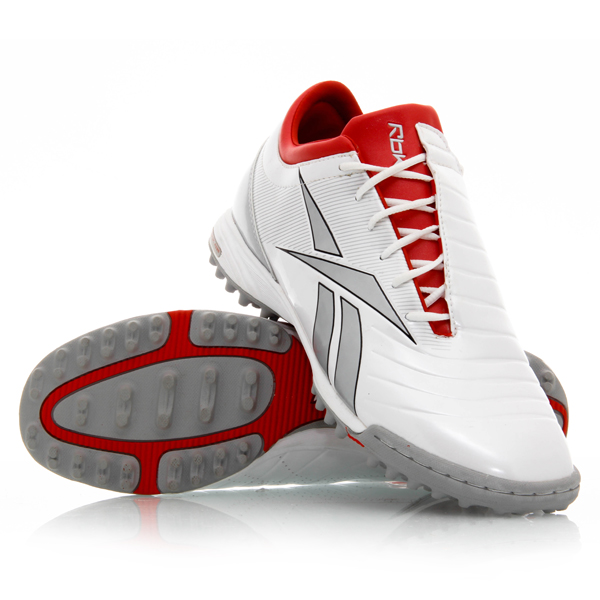 3104336346ddd1 Reebok Sprintfit Turf - Mens Turf Shoes - White Silver Red