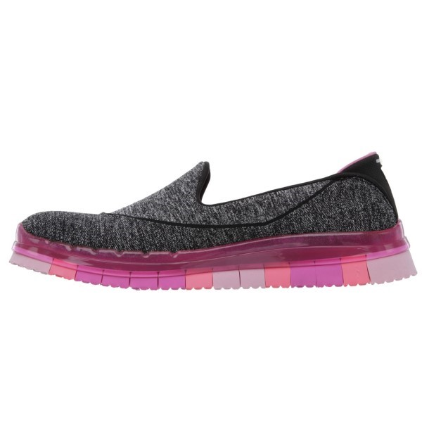 skechers go flex walk womens walking shoes black hot. Black Bedroom Furniture Sets. Home Design Ideas