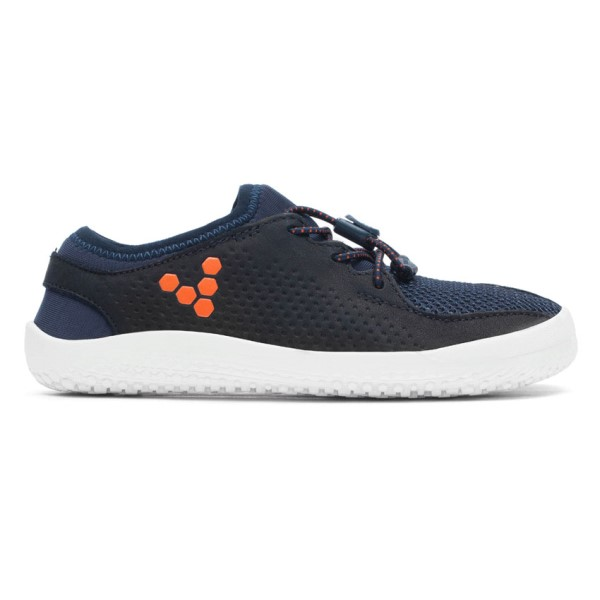 Vivobarefoot Primus Mesh Kids Boys Running Shoes - Mood Indigo