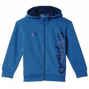 Adidas Linear Full Zip Kids Training Hoodie