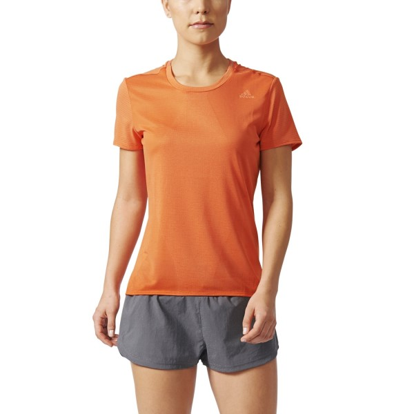 Adidas Supernova Womens Running T-Shirt - Easy Coral