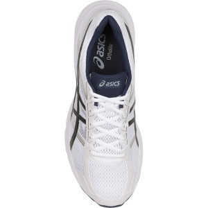 Asics Gel Contend 4 - Mens Running Shoes - White/Black/Insignia Blue