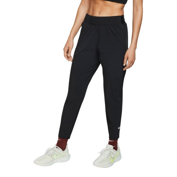 Nike Essential Womens 7/8 Running Pants - Black/Reflective Silver