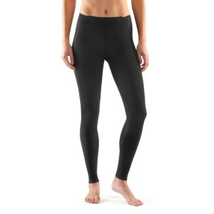Skins A400 Skyscraper Womens Long Compression Tights - Black ... b2c7e84d6