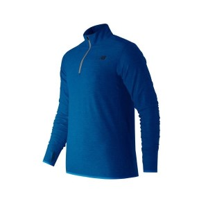 New Balance Transit Quarter Zip Mens Training Top