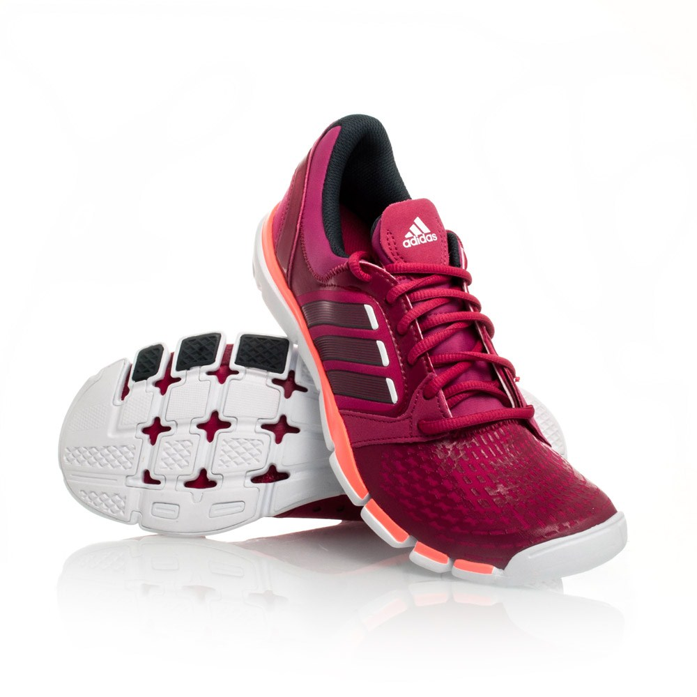 Adidas Adipure Tr 360 - Womens Running Shoes - Dark Pink Orange ... f0953d946