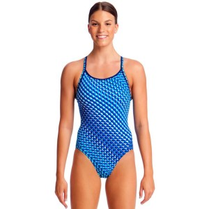 Funkita Diamond Back Womens One Piece Swimsuit