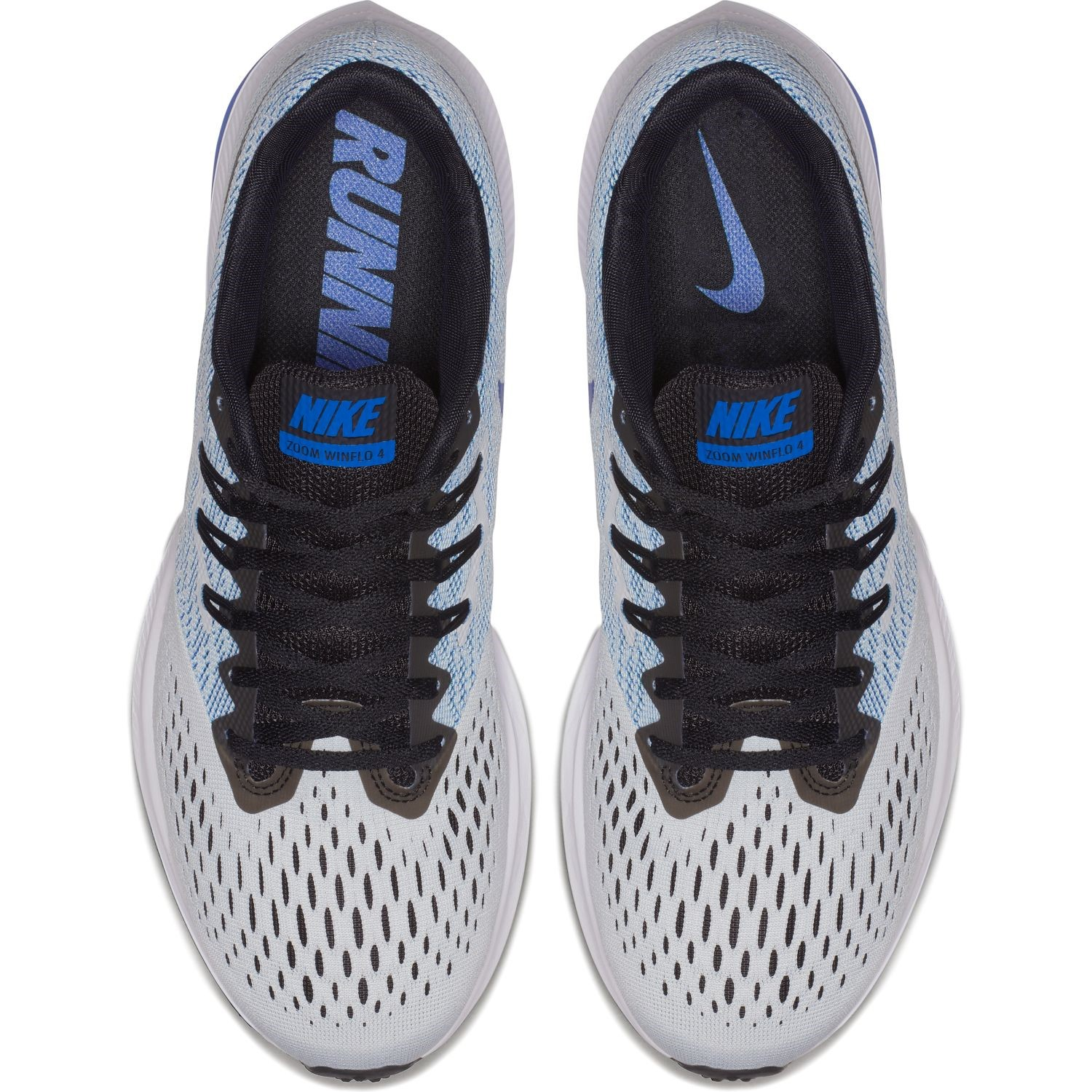 c58b6547dc8 Nike Zoom Winflo 4 - Mens Running Shoes - Pure Platinum Black Hyper Royal