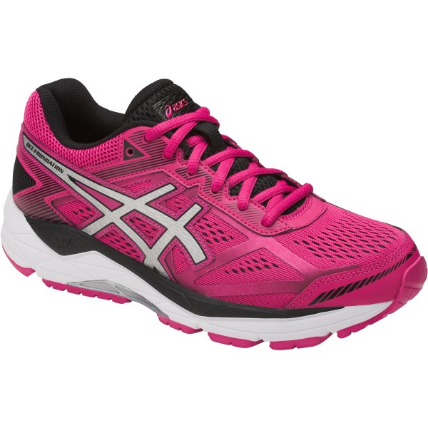 Pink Asics Womens Running Shoes