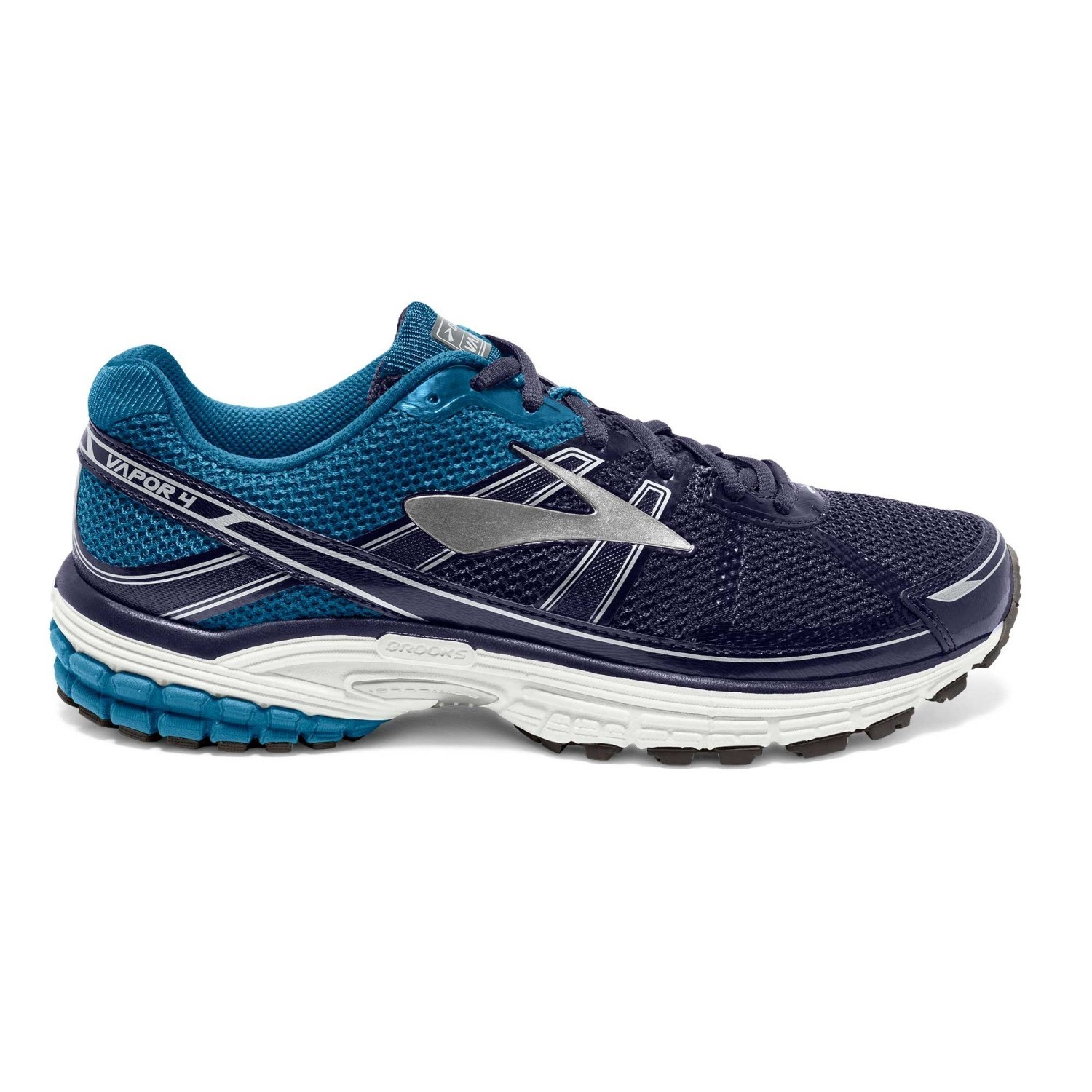 Brooks Vapor 4 - Mens Running Shoes - Black/Evening Blue