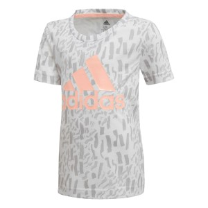 Adidas Badge Of Sport Kids Girls Training T-Shirt