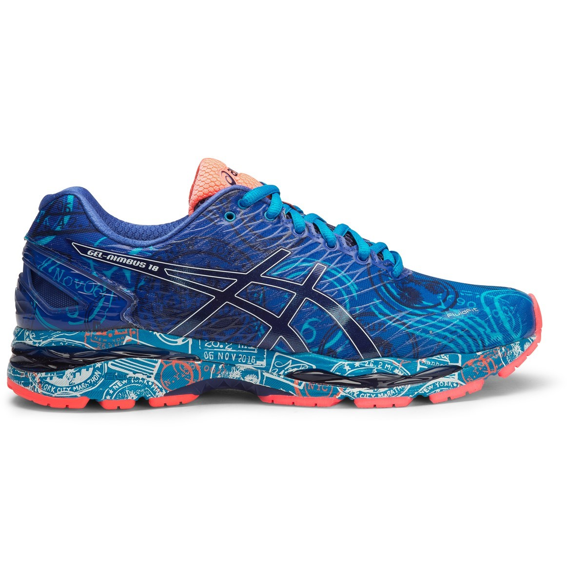asics gel nimbus 18 nyc limited edition mens running shoes new york online sportitude. Black Bedroom Furniture Sets. Home Design Ideas
