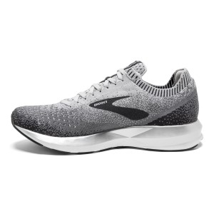 Brooks Levitate 2 - Womens Running Shoes - Grey/Ebony/White