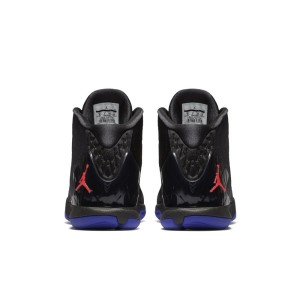e0d6f2c31b09 ... Jordan Super.Fly 4 - Mens Basketball Shoes - Black Bright Concord Blue