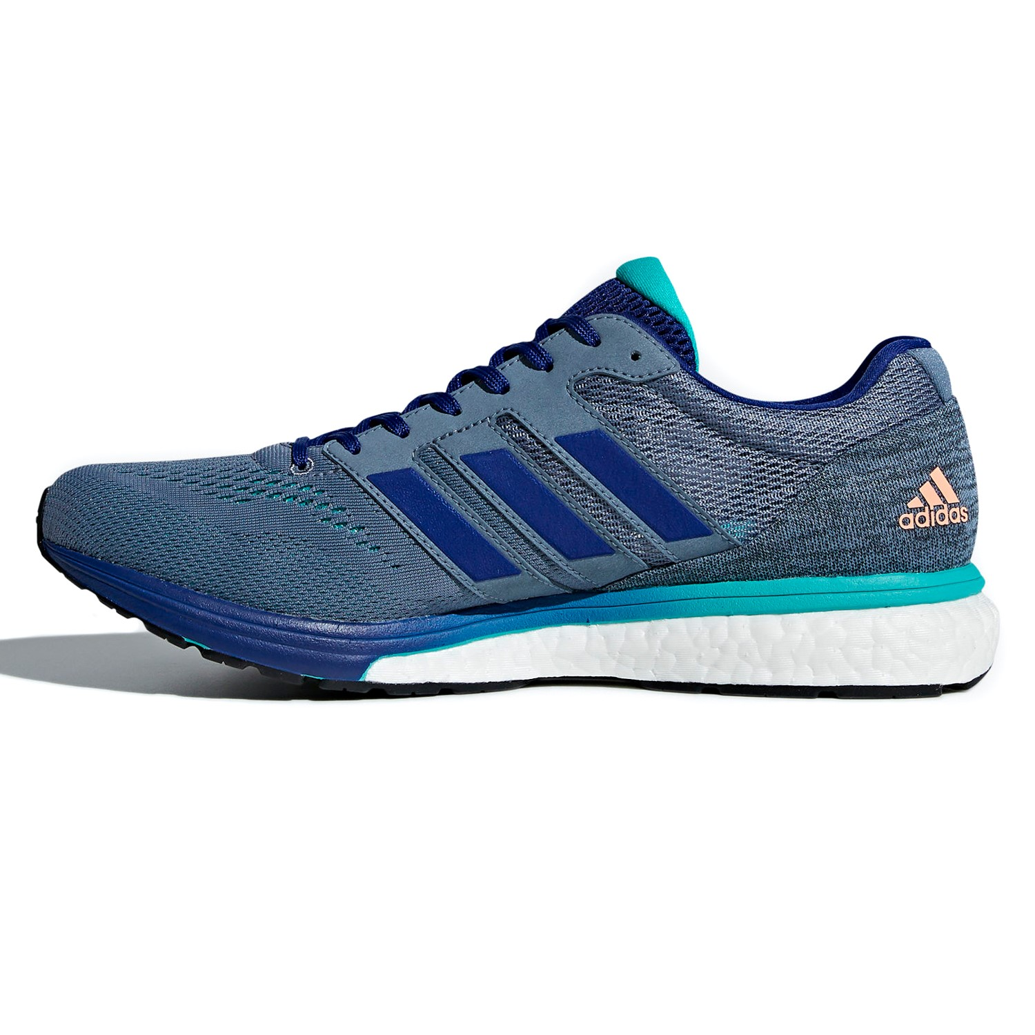Adidas Adizero Boston 7 - Mens Running Shoes - Raw Steel