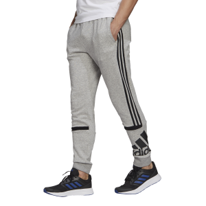 Adidas Essentials Logo Colourblock Cuff Mens Track Pants