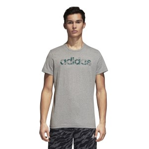 Adidas Linear Camouflage Mens Training T-Shirt