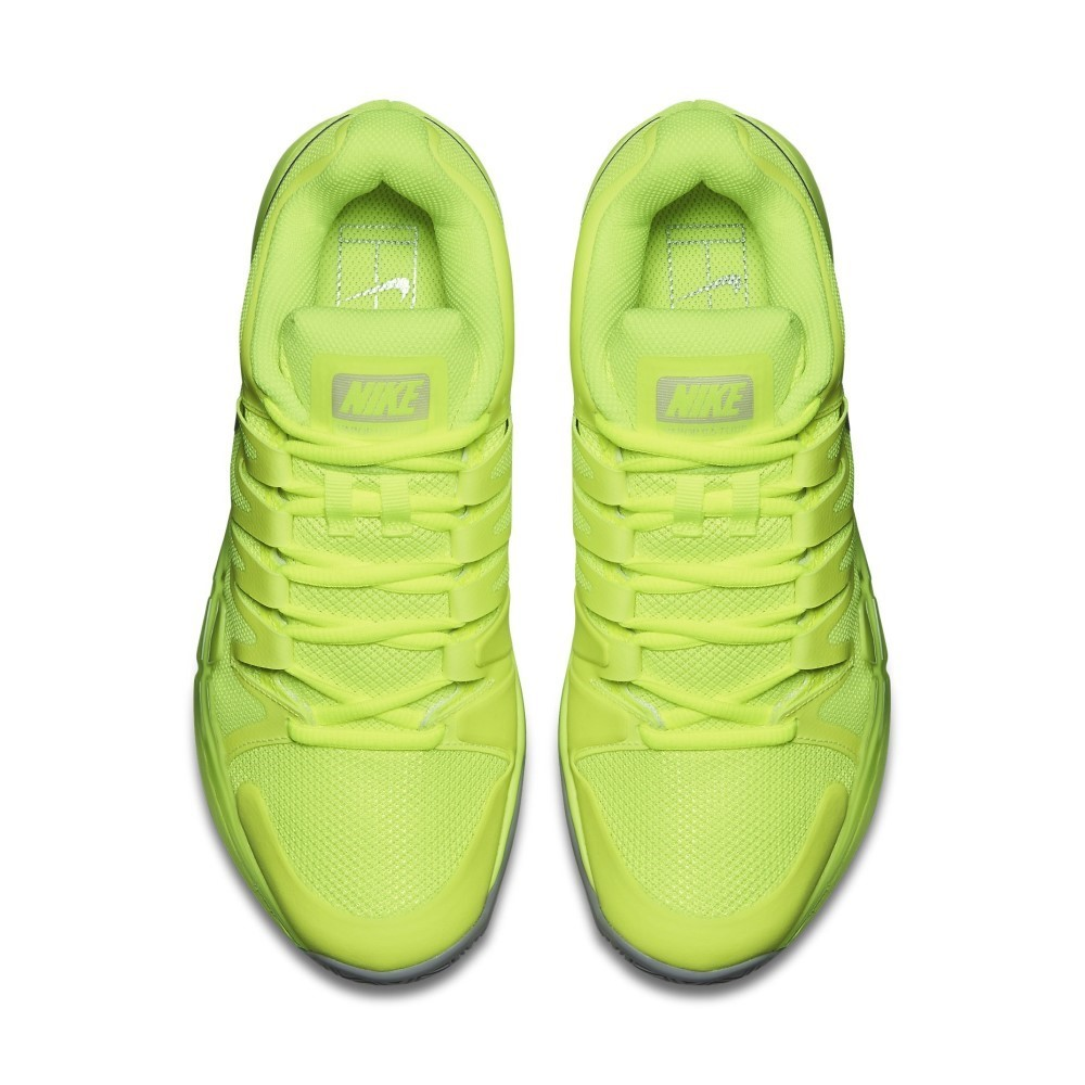 new style 0bd2b 69b21 Nike Zoom Vapor 9.5 Tour - Womens Tennis Shoes - Volt White Wolf Grey
