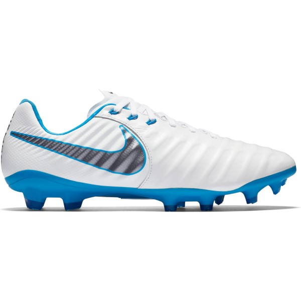 Nike Tiempo Legend VII Pro FG - Mens Football Boots - White/Blue Hero/Metallic Cool Grey