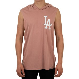 Majestic Athletic Los Angeles Dodgers Vincennes Mens Hooded Muscle Tank