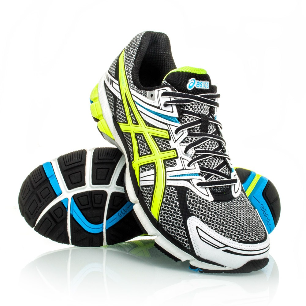Asics GT-1000 - Mens Running Shoes - Grey/Green/Blue