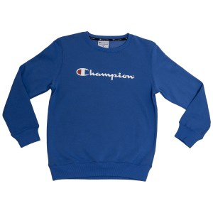 Champion Script Crew Kids Sweatshirt